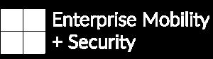 Logotipo do Enterprise Mobility + Security